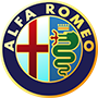 Alfa Romeo brand logo with transparent background