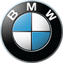 BMW brand logo with transparent background