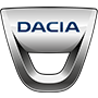 Dacia brand logo with transparent background