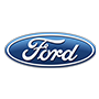 Ford brand logo with transparent background