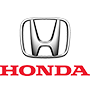 Honda brand logo with transparent background
