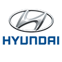 Hyundai brand logo with transparent background
