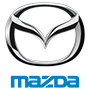 Mazda brand logo with transparent background