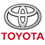 Toyota brand logo with transparent background