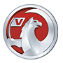 Vauxhall brand logo with transparent background