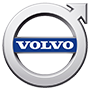 Volvo brand logo with transparent background