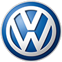 Volkswagen brand logo with transparent background